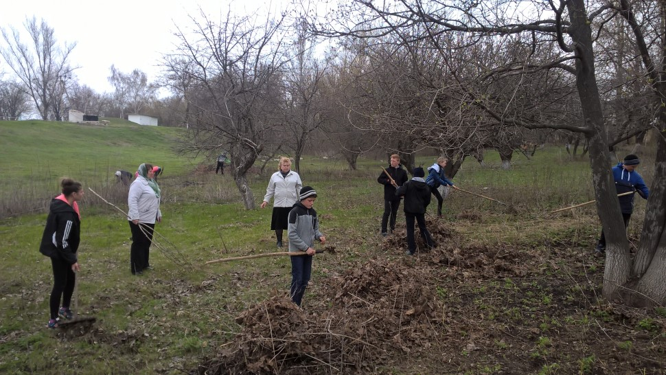 "Альбом: Всеукраїнська Акція з благоустрою "" За чисте довкілля """